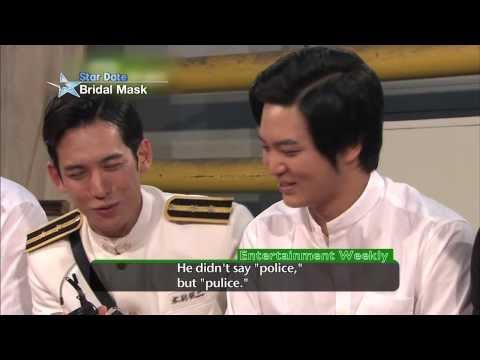 [Star Date] Hyeonjun's Surprise Visit to 'Bridal Mask' Set