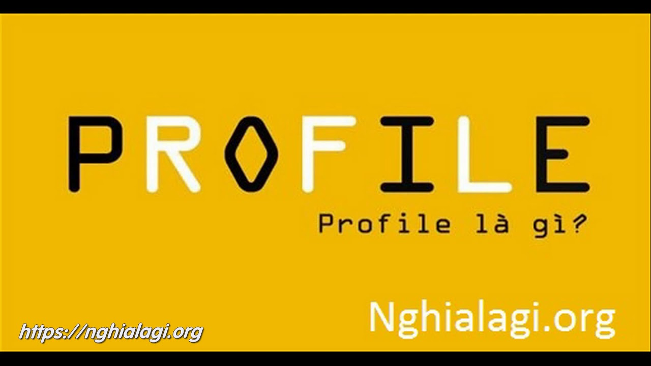 Profile là gì? Những ý nghĩa của Profile – Nghialagi.org