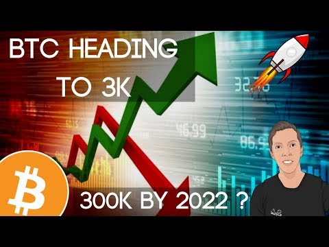 Bitcoin Heading To 3k... Can It Reach 300k By 2022!?!?