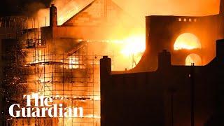 Fire guts Glasgow School of Art