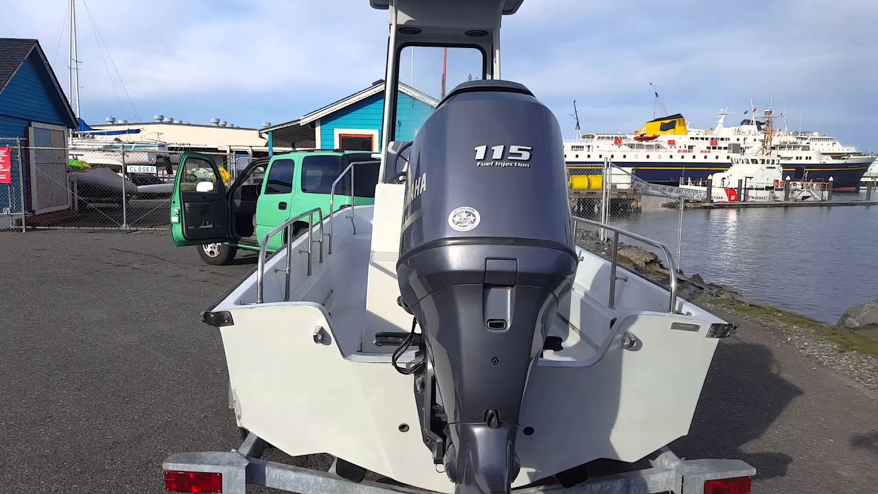 Boston Whaler 17 Guardian with Yamaha F115 31 hrs