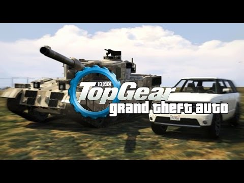 GTA 5 | Top Gear | Tank vs Range Rover