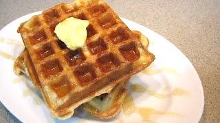 Overnight Waffles - Breakfast!