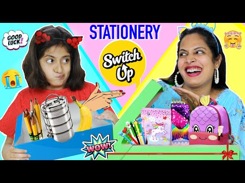 MYSTERY BOX - Stationery SWITCH-UP Challenge | School Supplies | MyMissAnand