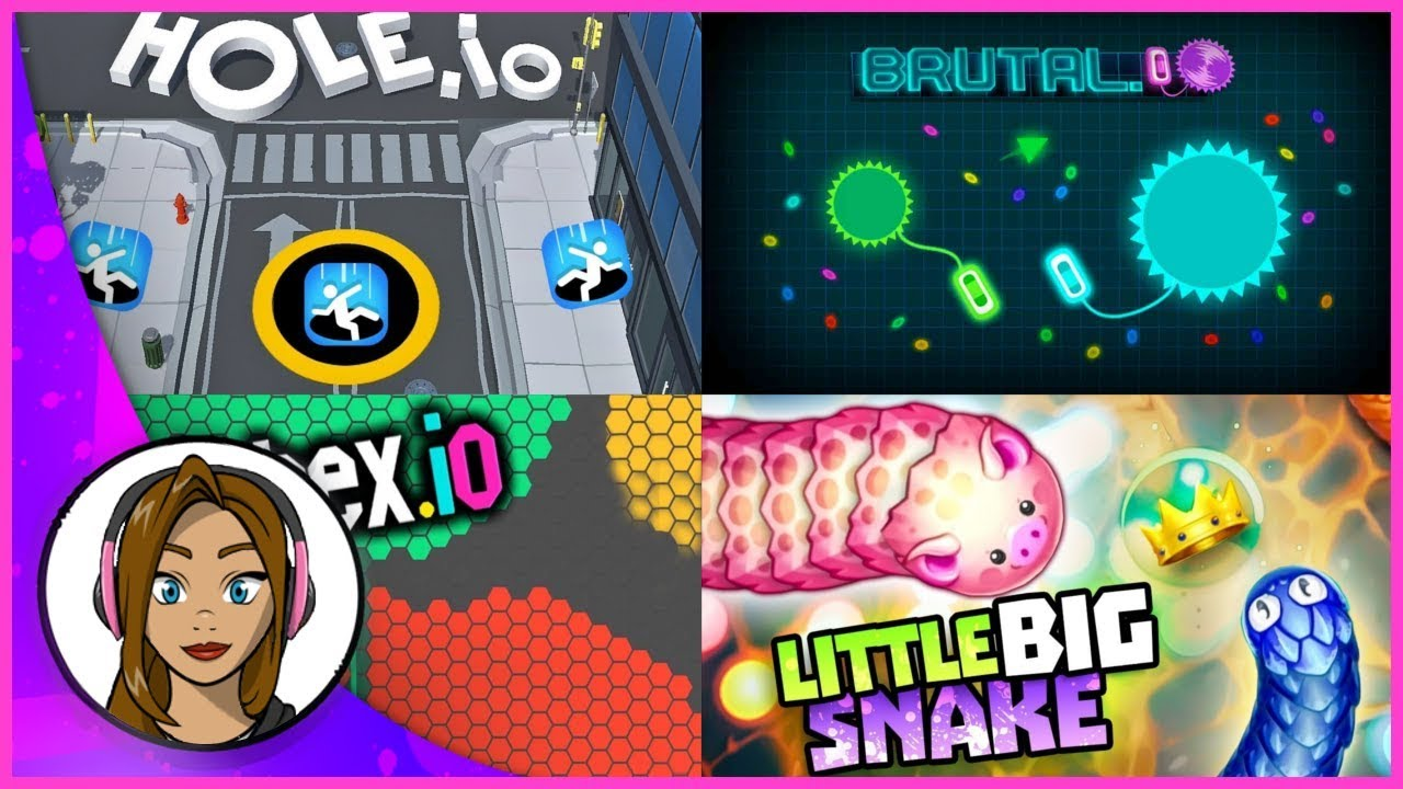 Top 4 .io Games - Best IO Games Ever!