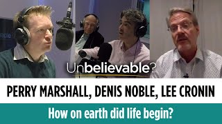 Can chemistry solve the origin of life? Perry Marshall, Denis Noble and Lee Cronin