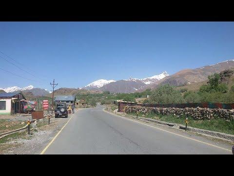 Srinagar-Leh Highway in front of Tiger Hill