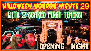 🔴Live: Halloween Horror Nights 29 Opening Nights. HHN. Universal Orlando.
