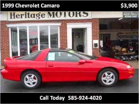1999 Chevrolet Camaro Used Cars Farmington Canandaigua