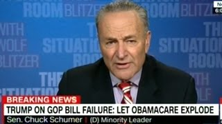 Senator Schumer  Ha! Ha! Ha! People Will Suffer! That's NOT What A President Is Supposed To Be!