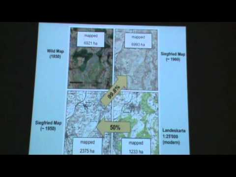Historical wetland loss  in the Swiss lowlands - spatial patterns - Urs Gimmi | HMEG 2012