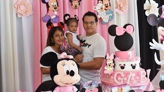 Fiesta Minnie Mouse - Gaby Alvarez Tapia 1 añito
