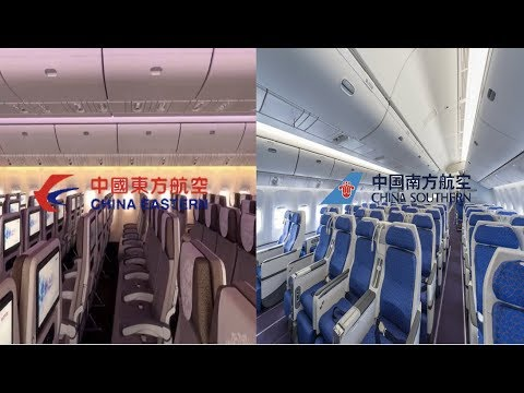 AIRLINE COMPARISON #2 | China Eastern vs China Southern | Luxury Travel