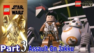 Assault On Jakku | Lego Star Wars The Force Awakens | Part 3 | Live Commentary