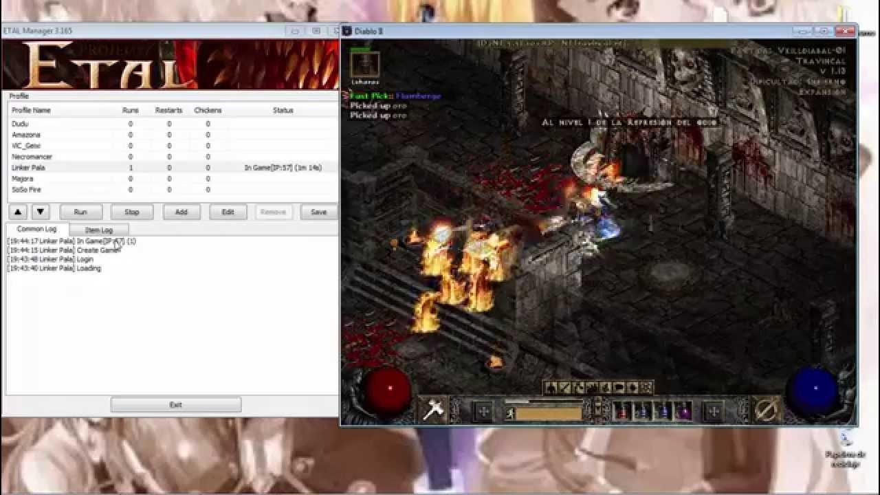 Diablo 2 D2NT - Explicación y descarga! Como configurar el bot - Paladin