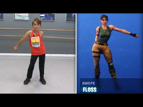 Fortnite-Inspired Dance Class Teaches Video Game-Inspired Moves