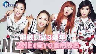 鏡週刊 鏡娛樂即時》解散剛滿3週年 2NE1遭YG官網除名