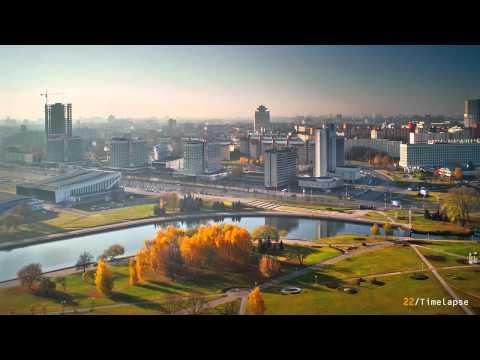 Минск - 22 Time-laps (Цейтраферная съемка )
