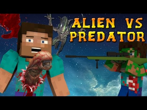 Minecraft Mods - ALIEN VS PREDATOR MOD - ALIENS, GUNS, and DORITOS?! (Minecraft Mod Showcase)
