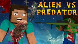 Minecraft Mods - ALIEN VS PREDATOR MOD - ALIENS, GUNS, and DORITOS?! (Minecraft Mod Showcase)