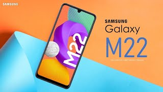 Samsung Galaxy M22 First Look, Design, Price, Specifications, Camera, Features