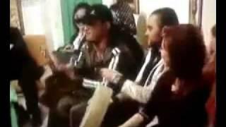 حفلة معمر القذافي في بيت دريد لحام