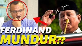 Ng4muk Bu Ani Di b(ull)y, Ferdinand PD: Saya Berhenti Dukung Prabowo