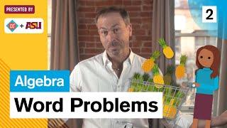 Word Problems: Study Hall Algebra #2: ASU + Crash Course