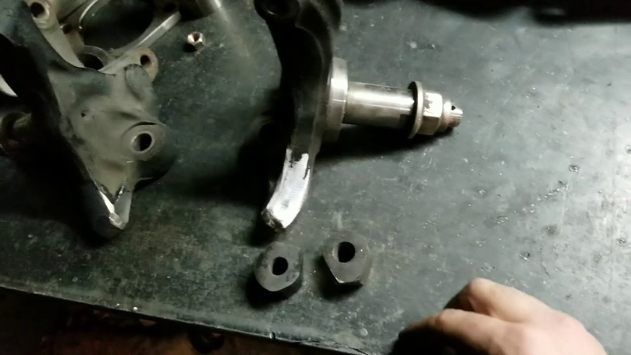 How To Modify 240SX Knuckles