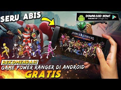 BIKIN KETAGIHAN !! 7 Game Android POWER RANGERS TERBAIK Yang Harus Banget Dimainkan