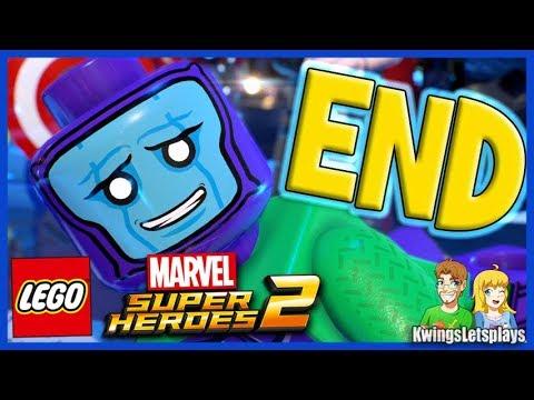 LEGO Marvel Super Heroes 2 Walkthrough Part 21 FINAL BOSS & ENDING!