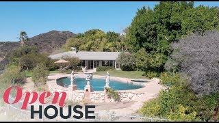 Elizabeth Taylor's Beverly Hills Estate | Open House TV