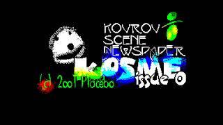 Kosme 0 Intro - Placebo  [#zx spectrum AY Music Demo]