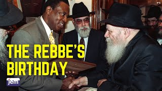 The Lubavitcher Rebbe - Birthday Thoughts And Blessings