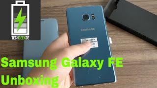 Samsung Galaxy Note FE / Die Auferstehung des Note 7 / Unboxing / Deutsch