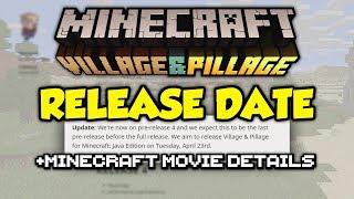 Minecraft 1.14 Release Date CONFIRMED + Minecraft Movie!?