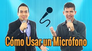 Cómo Usar un Micrófono y Hablar Correctamente: Técnicas para Hablar en Público | Oratoria #135