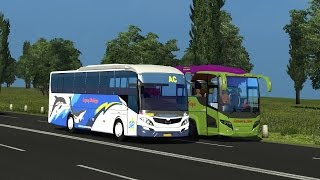 Euro Truck Simulator 2 - Discovery P.O Sugeng Rahayu + Map Legiunnaire v14 Addon Map Indonesia (P-1)