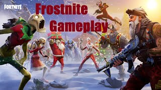 Frostnite PVE Survival Event Gameplay(Fortnite Save the World) Unlocking Jingle Jess