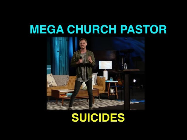 Mega church pastors being overcome by ANXIETY and DEPRESSION? Why?