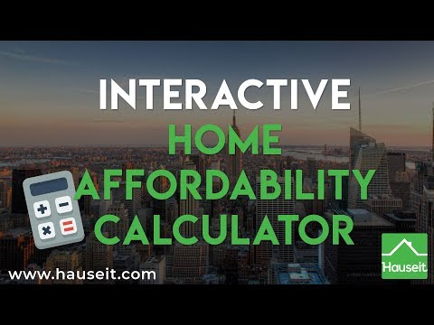 Interactive Home Affordability Calculator (2019)   How Much House Can You Afford? - Hauseit