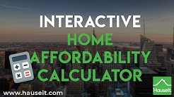 "Interactive <span id=""home-affordability-calculator"">home affordability calculator</span> (2019) 