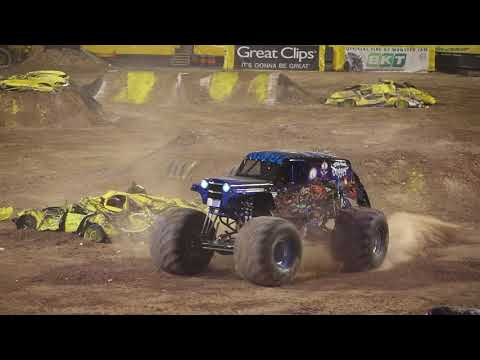 Monster Jam's Son-uva Digger Driver Ryan Anderson's Freestyle El Paso