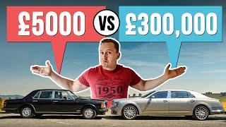 homepage tile video photo for £5000 Luxury Car VS £300,000 Luxury Car!