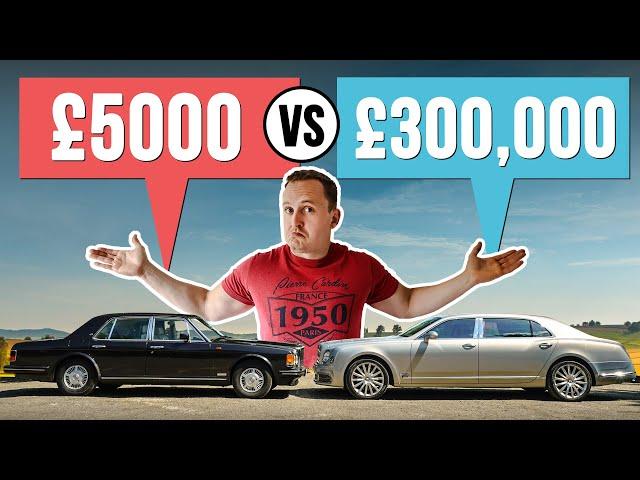 £5000 Luxury Car VS £300,000 Luxury Car! - Car Throttle