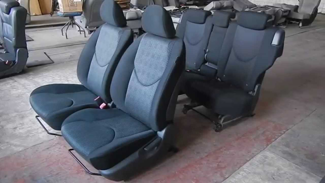 toyota rav4, 2004 раскладываются сидения