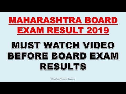 MUST WATCH VIDEO BEFORE BOARD EXAM RESULTS | 10TH MAHARASHTRA BOARD RESULT  2019