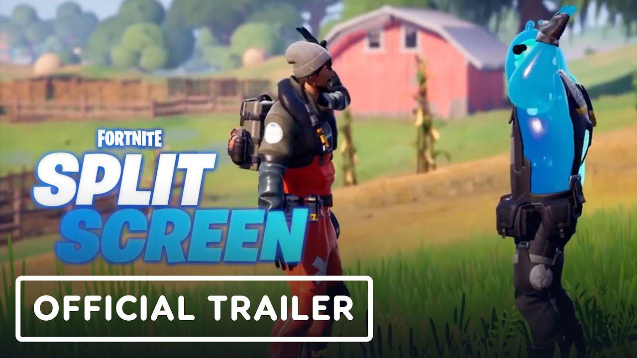 Fortnite - Trailer oficial de tela dividida + vídeo