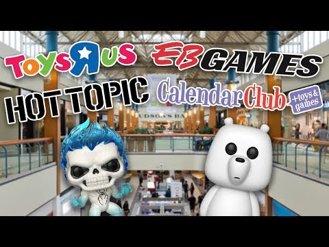 Funko Pop hunting at The Mall