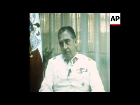 SYND  2-1-74 INTERVIEW WITH GENERAL PINOCHET IN SANTIAGO